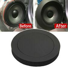 """4Pcs 6.5"""" Cars Door Speaker Ring Bass Audio Speakers Sound Insulation Ring Trim"""
