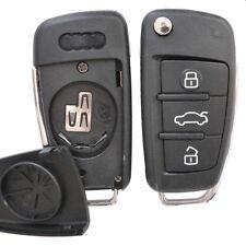 Klapp Schlüssel Gehäuse Audi A1 A3 A4 A6 4F S3 S4 TT 8J B7 Q7 Q5 Fernbedienung
