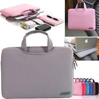 "For Mac MacBook Air Pro 11""13"" 15"" Notebook Laptop Sleeve Carry Bag Handbag Case"