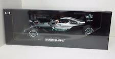 MINICHAMPS LEWIS HAMILTON 1/18 MODEL MERCEDES F1 W07 GP AUSTRALIA 2016 NEW