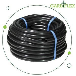 Gardiflex 16mm (13mm ID) Black LDPE Water Pipe Hose Garden Irrigation