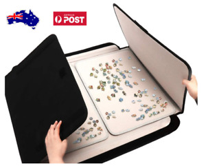 Jigsaw Puzzle Board & Carrier, family fun game - cloth-covered mat - 1000pc AU!