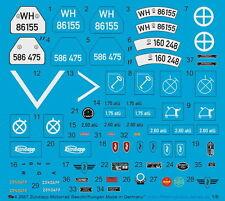 Peddinghaus 2687 1/6 Zündapp Moto Étiquettes