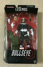 "Marvel Legends Bullseye Man Thing BAF Piece 6"" Inch Hasbro Action Figure"