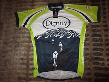 Dignity Memorial Diabetes Cycling Biking Jersey XL Adult NEW