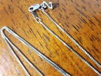 Jane seymour open heart collection sterling silver box link chain.