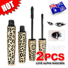 Natural Fibre Mascara Brush Transplanting Gel False Eyelashes LOVE ALPHA Set AU