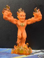 Human Torch Johnny Storm Super Hero Squad Mega Loose Hasbro Marvel 2007