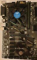 GigaByte GA-H110-D3A+ Intel Celeron G3930 2,9 GHZ+ Crucial 4GB 2133 MHZ