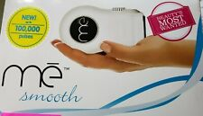 BEAUTY ME SMOOTH IPL HAIR REDUCTION DEVICE MODEL #HU-CO00341 OPEN BOX