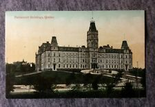PARLIAMENT BUILDINGS QUEBEC CANADA POSTCARD 1900s #L648