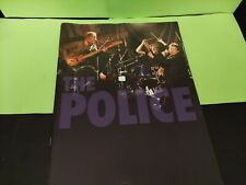 The Police 2007 Reunion Tour Program