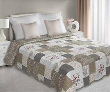 Édredons et couvre-lits lavable en machine marrons, pour chambre à coucher