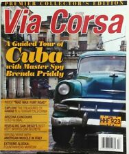 Via Corsa Fall 2015 A Guided Tour of Cobra With Brenda Priddy FREE SHIPPING sb