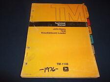 JOHN DEERE 7640 KNUCKLEBOOM LOADER TECHNICAL SERVICE REPAIR MANUAL TM1148