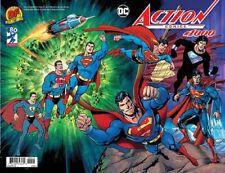 ACTION COMICS 1000 DAN JURGENS DF COLOR WRAPAROUND VARIANT SUPERMAN NM COA