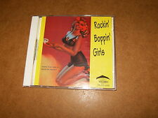CD (TR 5000) - Various artists - ROCKIN BOPPIN GIRLS