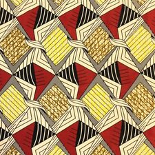 African Print Fabric 100% Cotton 44'' wide sold by the yard (185185-2)