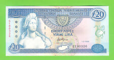 20 CYPRUS POUNDS 1993 -  UNCirculated.