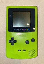 Nintendo Game Boy Color Grün Gebraucht Funktioniert Gameboy