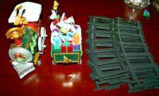 Avon Disney Holiday Train Set Mickey Minnie Donald Goofy Holiday In Box Complete