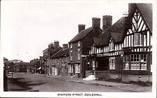 Eccleshall. Stafford Street & Ye Olde King's Arms.