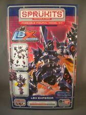 Rare Sprukits LBX EMPEROR Little Battlers Level 2 Robot Model Kit Figure Bandai