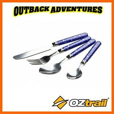OZtrail 24pc Stainless Steel Cutlery Set