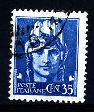 """ITALIA - Regno - 1929 - Serie """"Imperiale"""" - Italia turrita - 35 c. azzurro"""