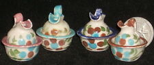 Dollhouse Miniature 1 Mexican Pitcher & Basin 1:12 Bathing Bath #TC406 BROWN