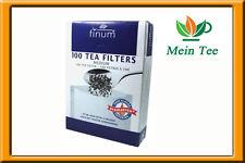 1x 100 unidades teefilter Finum m papel filtro con lengüeta-colador de té