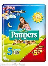 PAMPERS Sole Luna 5^ Misura 11-25Kg - 96 Pannolini Offerta