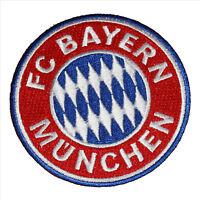 FC BAYERN MÜNCHEN Aufnäher Logo Wappen 8cm  Deutscher Meister FCB WOW NEU TOP