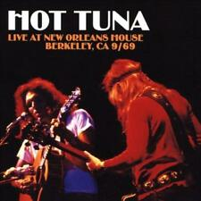HOT TUNA - LIVE AT NEW ORLEANS HOUSE, BERKELEY, CA 9/69 NEW CD