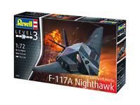 Revell 03899 - 1/72 Lockheed Martin F-117A Nighthawk - Neu