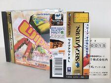 Sega Saturn SS Wipe Out XL JAPAN JP GAME w/spine z1287