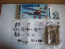 ESCI albatros d III, scala 1/72, soldatini mezzi militari