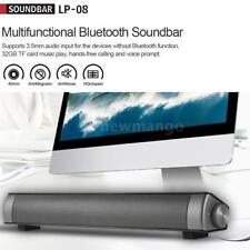 Surround Sound Bar System Subwoofer Wireless Bluetooth Soundbar AUX Speaker K1P3