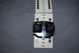 RARE BLACK BAKELITE LENINGRAD STEREO VIEWER EXCELLENT CONDITION & 2 EARLY SLIDES