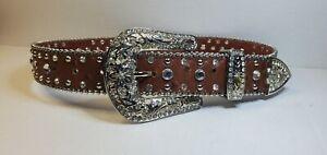 Weststar Girls western belt w/buckle medium