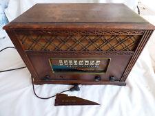 VTG Selector Phono Radio Emerson 1949 577 series B AM Band Wooden Tube Radio