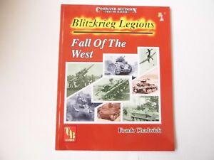 BLITZKRIEG LEGIONS - FALL OF THE WEST - WARGAMES RULES - WW2 - NEW