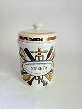 Schöne Piero Fornasetti Milano Sweets Dose 1960er