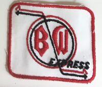 Boston & Woonsocket B/W Express driver patch 3 X 3-1/2 #4119