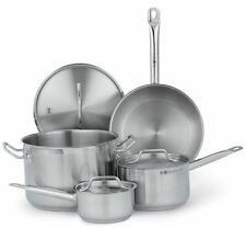 7- Piece Commercial Kitchen Induction, Gas, Electric Stainless Nsf Cookware Set