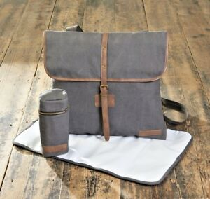 Silvercloud Tote Grey Baby Changing Bag - High Quality Stylish Changing Bag