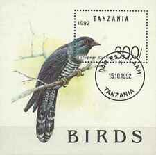 Timbre Oiseaux Tanzanie BF181 o lot 27393