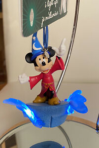 NEW DISNEY STORE  MICKEY MOUSE SORCERER LIGHT-UP CHRISTMAS HANGING BAUBLE BN