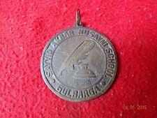 1900's Old Vintage Tribal Amulet Pendant Rare Islamic Muslim Brass Medal