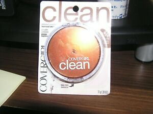 BRAND NEW CoverGirl Clean Pressed Powder Normal Skin  #110 Classic Ivory
